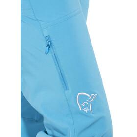 Norrøna Falketind Flex1 Spodnie długie Kobiety niebieski